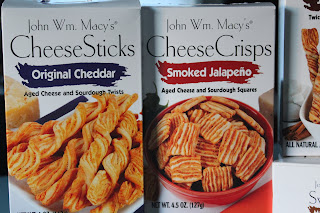 John Wm. Macy's CheeseSticks and CheeseCrisps