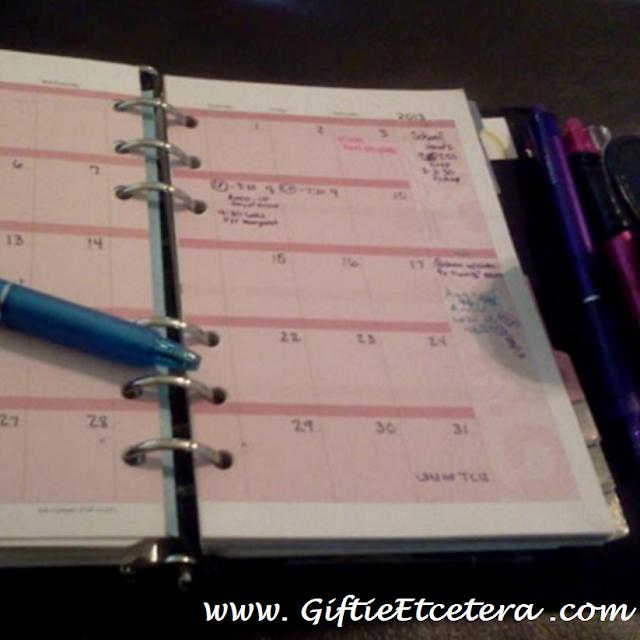 monthly, planner, calendar