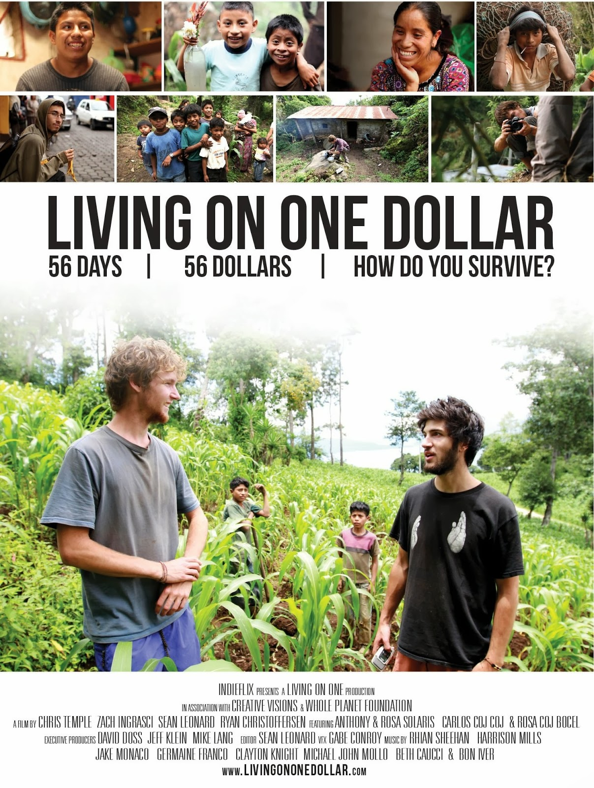 capa Download – Living On One Dollar – WEBRip ( 2013 )