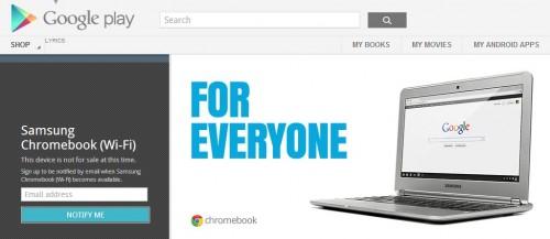 samsung chromebook google play store