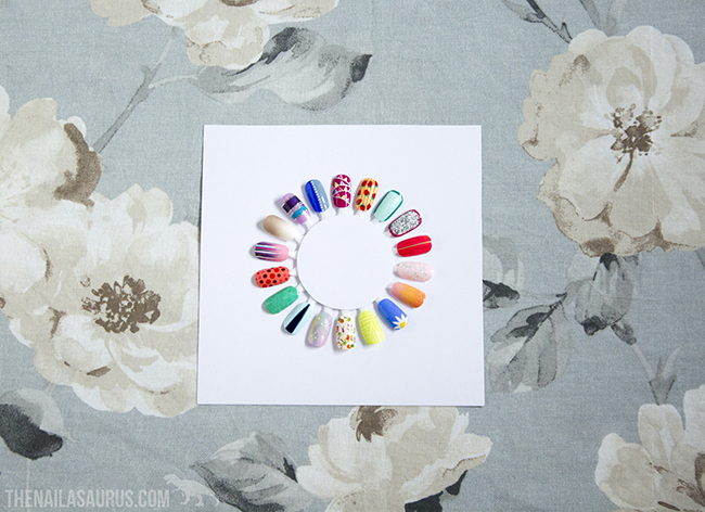 DIY Project: How To Turn Nail Art into Wall Art