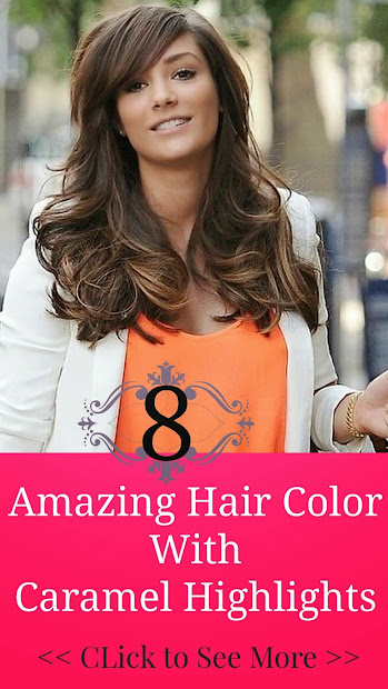 8 amazing hair color with caramel