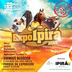EXPOIPIRÁ 2019, 29 a 2 junho