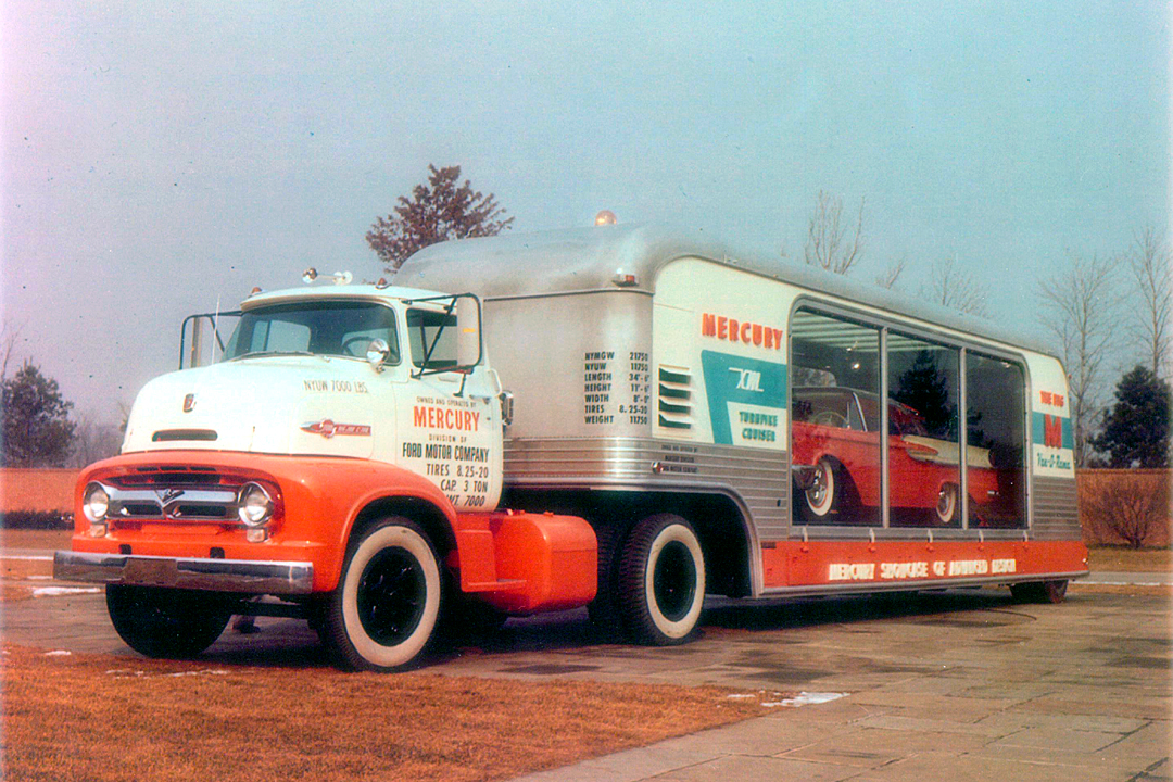 1956 Ford Coe for Sale http://dwtauthor.blogspot.com/2011/06/1956-mercury-xm-turnpike-cruiser.html