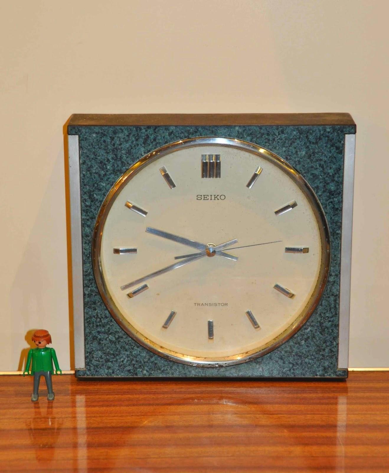 Reloj de pared seiko vintage jacoboansin - Relojes vintage de pared ...