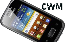 Clockworkmod for galaxy pocket GT-S5300 CWM