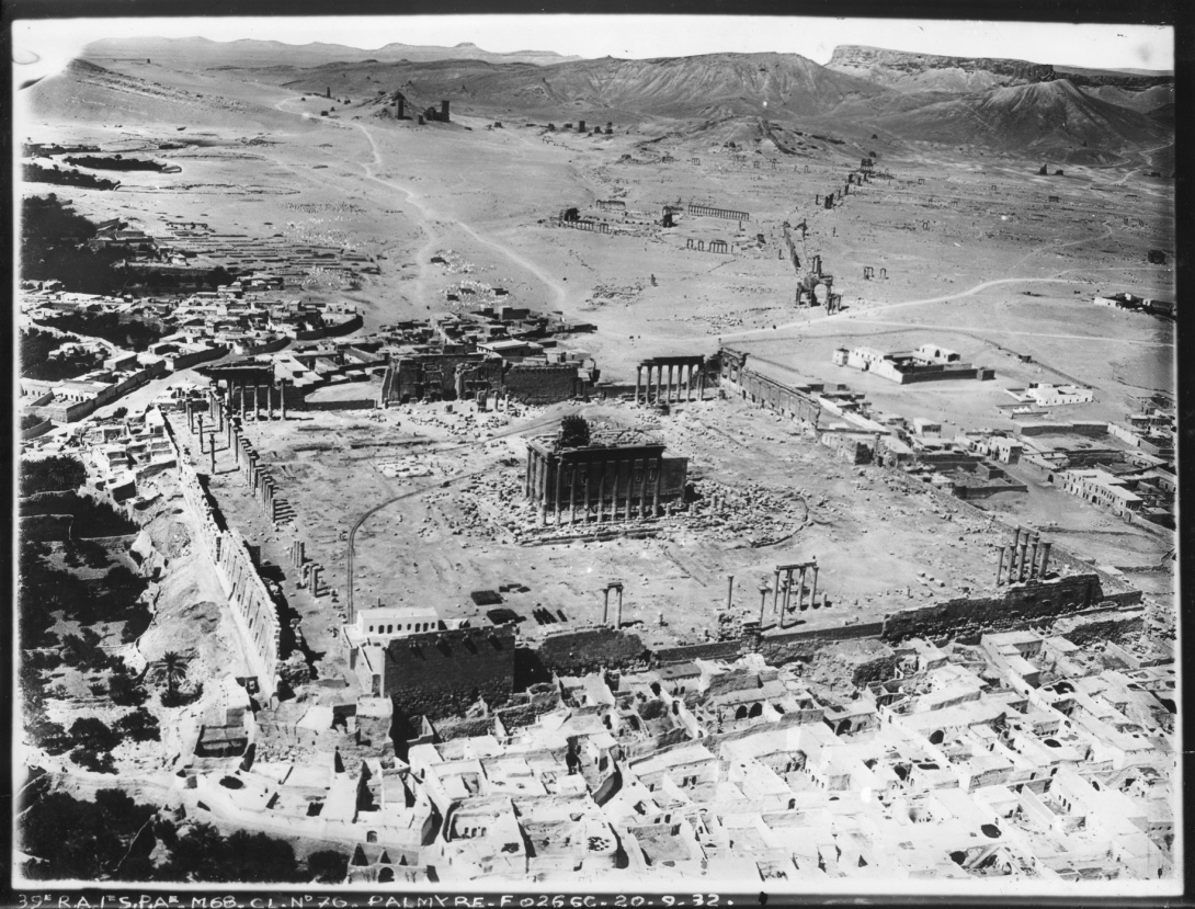 Palmyre en images, fouilles archéologiques (1901-1939)