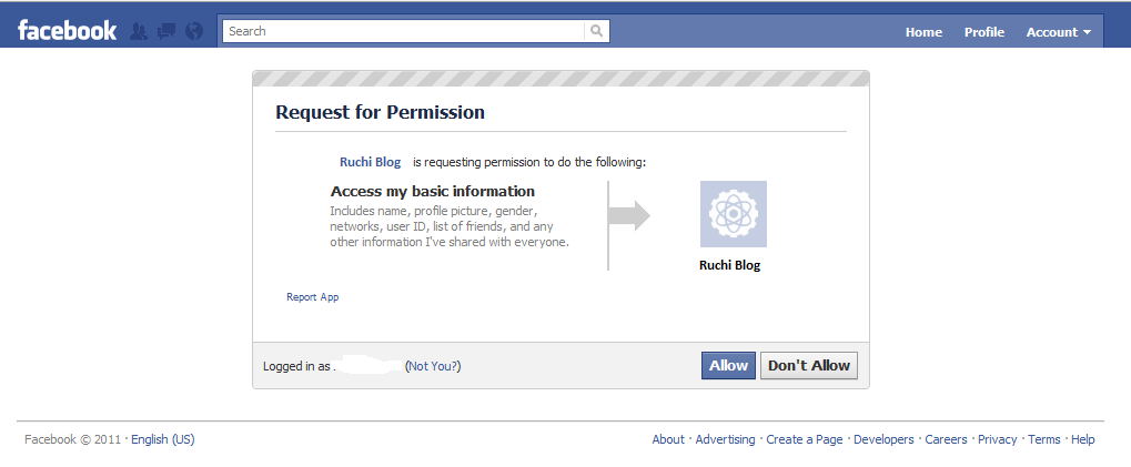 facebook login with react how to ask permission scopes