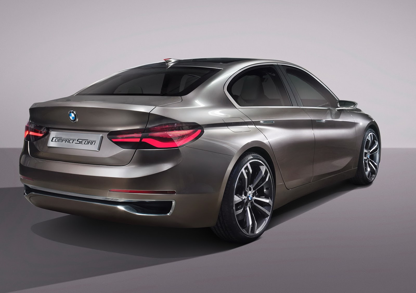 Bmw Concept Compact Sedan Previews 1 Or 2 Series Sedan