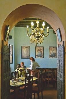 Sala da tè e cibi vegetariani