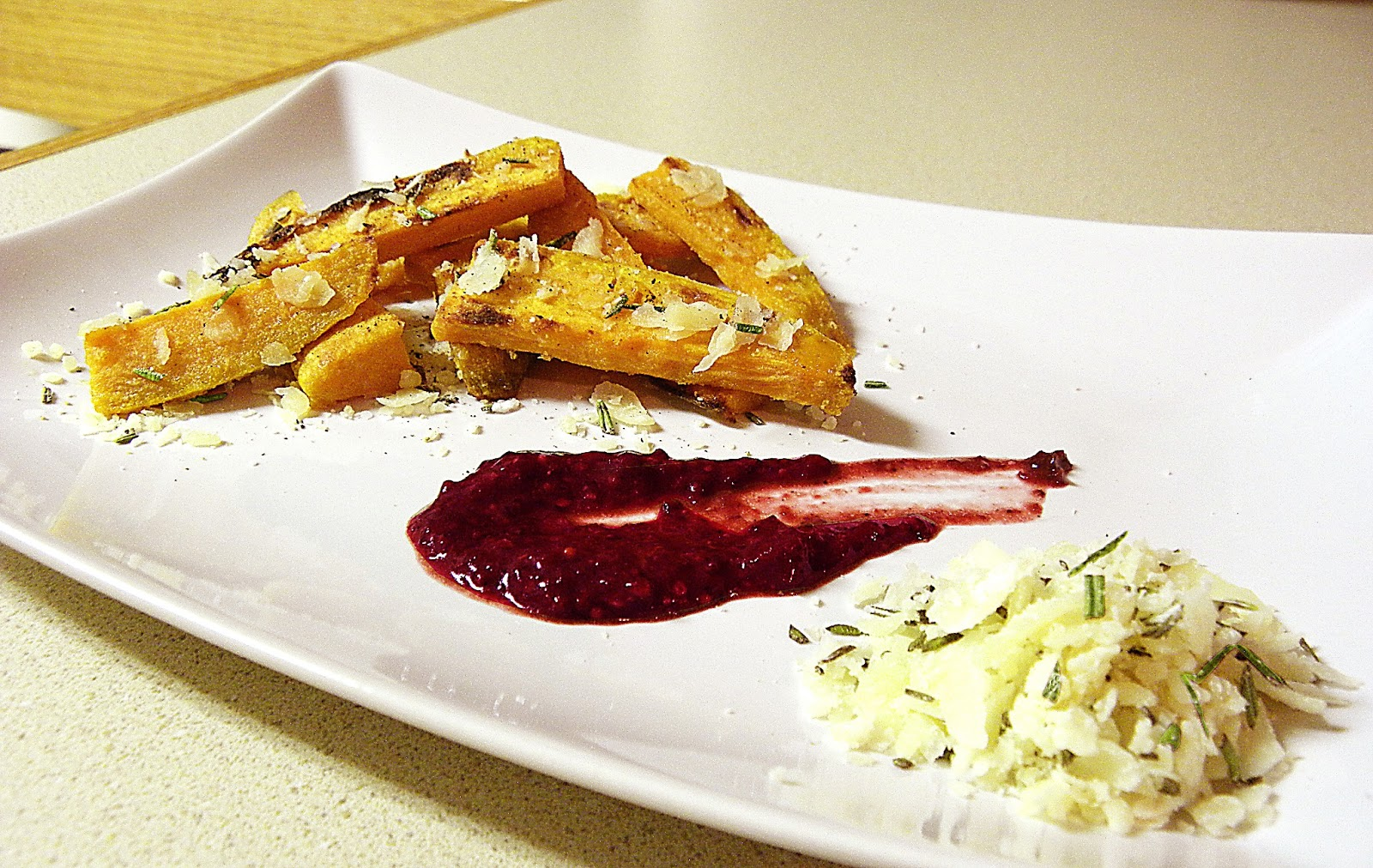 ... Tea Spoons and Pickle Forks: Parmesan and Rosemary Sweet Potato Fries