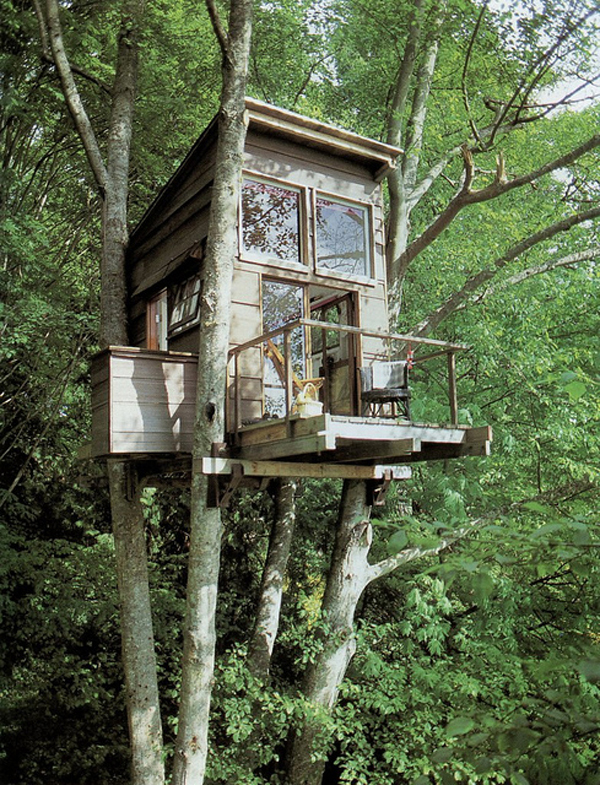 Bespoke tree house design for Small tree house