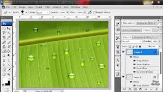 Style Tetesan Air Photoshop