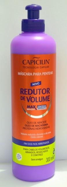 Redutor de volume Capicilin - Máscara para pentear | Dica de Beleza