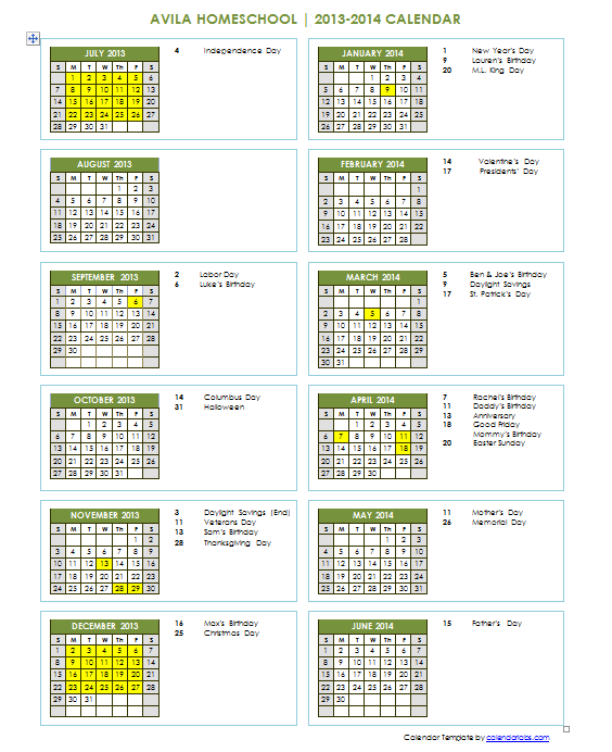 Year Round School Calendar : How do i teach with so many kids school year round
