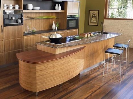Lindos Gabinetes De Cocina De Bamb Cocina Y Muebles