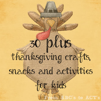 Thanksgiving crafts snacks and activities for kids
