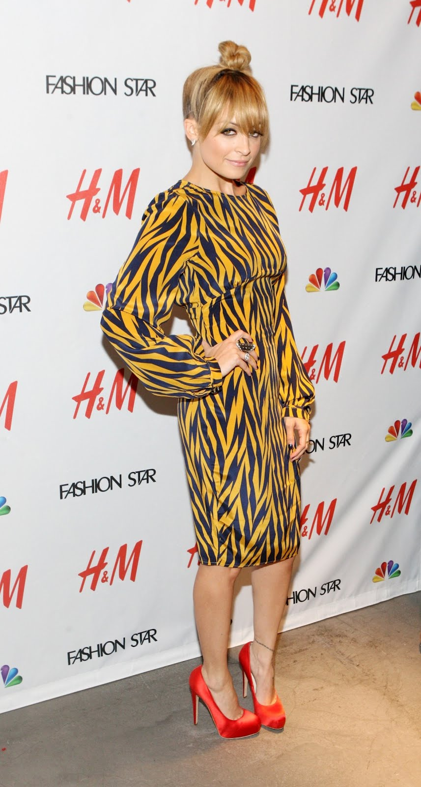 "NICOLE RICHIE FASHION: NBC's ""Fashion star"" event at the H ..."