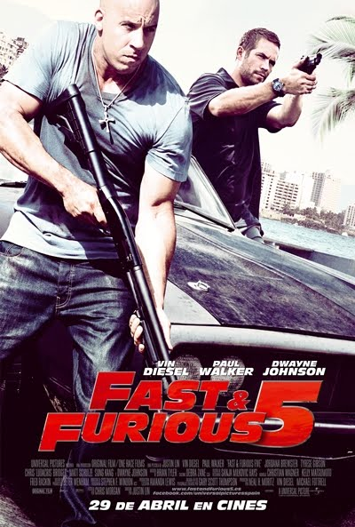 Rapido y Furioso 5 [The Fast and Furious 5] DVDR Menu Full [ISO] Español Latino NTSC [2011]