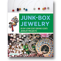 book cover of Junk Box Jewelry by Sarah Drew published by Zest Books