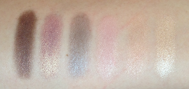 laura mercier artist palette for eyes swatches