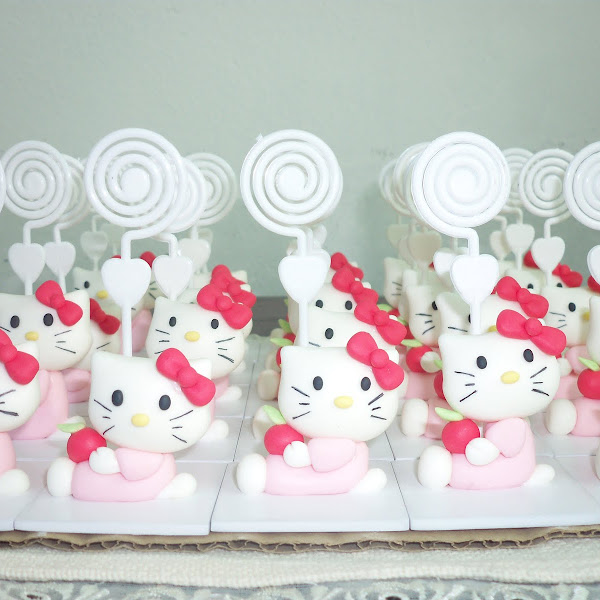 Lembrancinhas da Hello Kitty