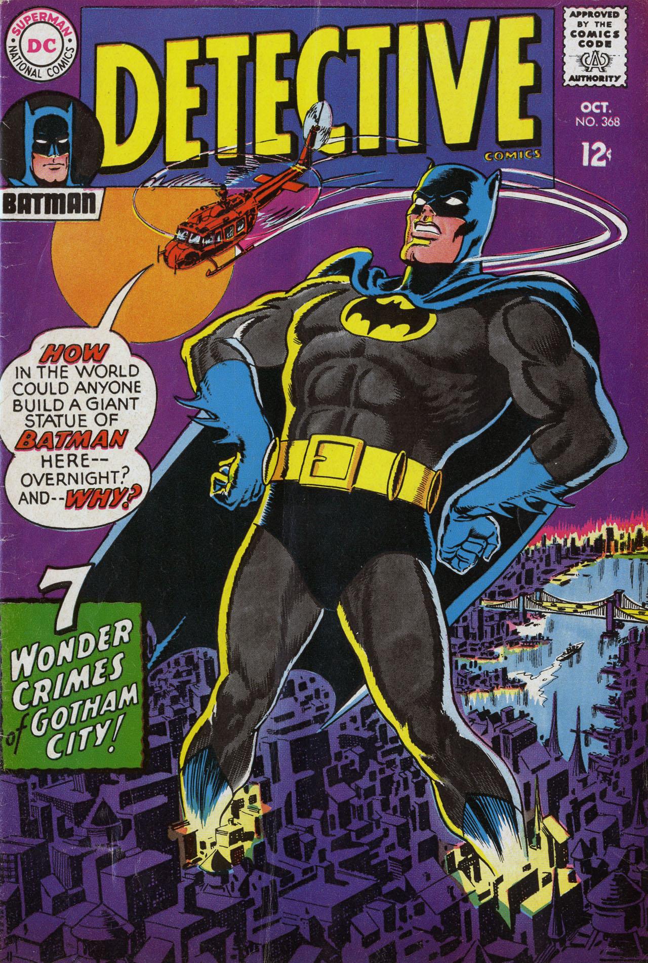 Detective Comics (1937) 368 Page 1