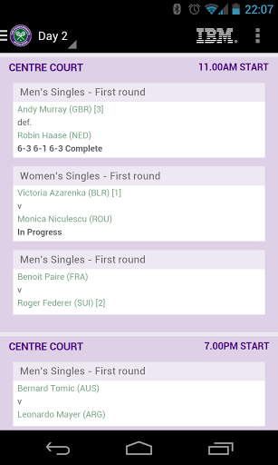 The Championships, Wimbledon APK