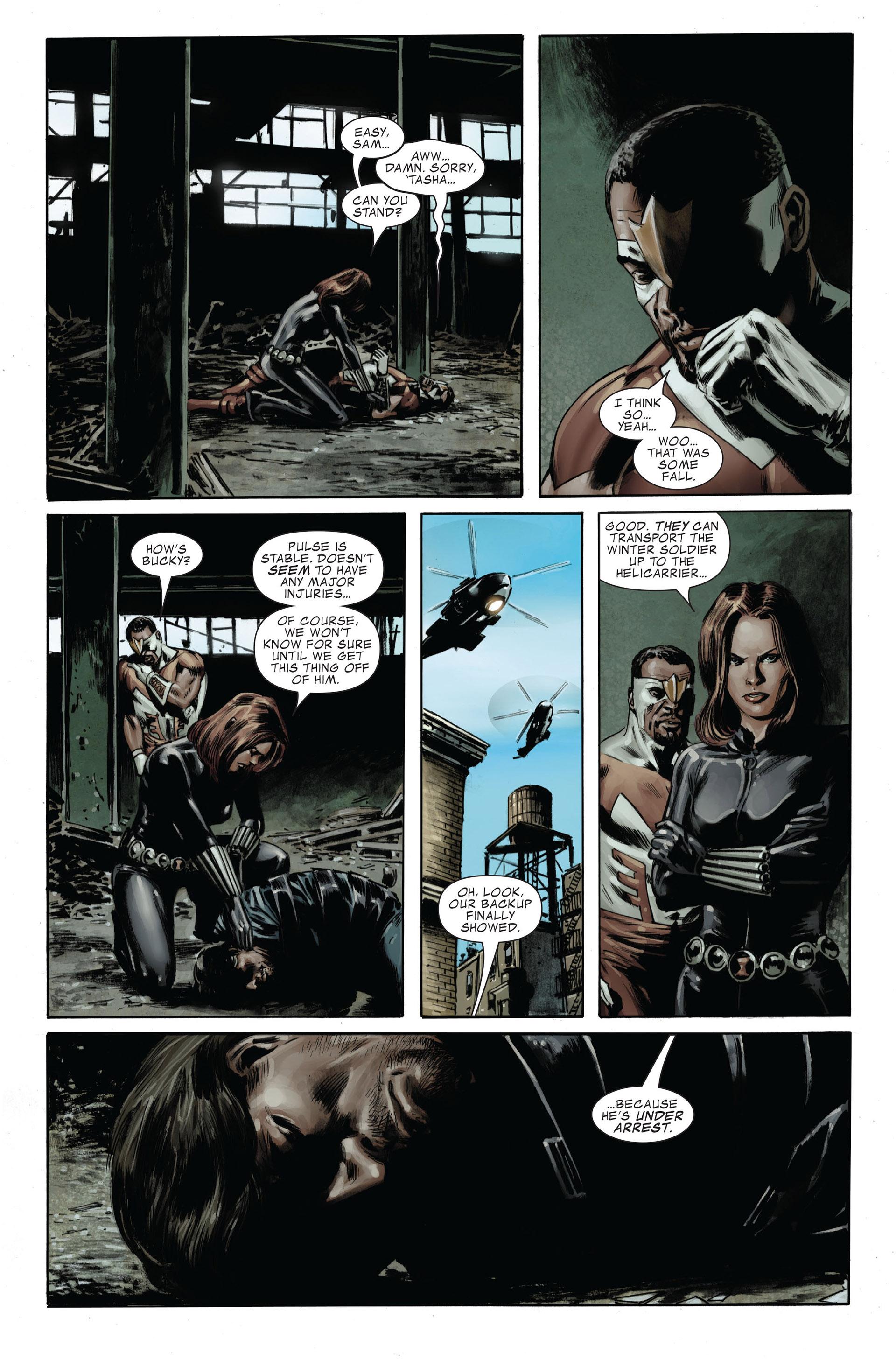 Captain America (2005) Issue #32 #32 - English 24