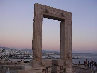 Νάξος, Ναός του Απόλλωνα, Πορτάρα, Naxos, Temple of Apollon, Portara