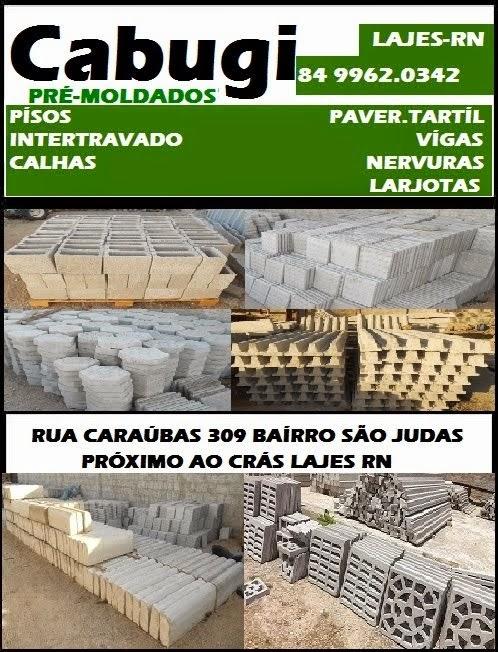 CABUGÍ PRÉMOLDADOS LAJES RN.