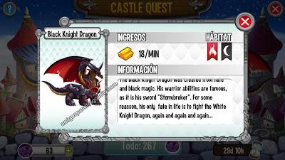 imagen del black knight dragon
