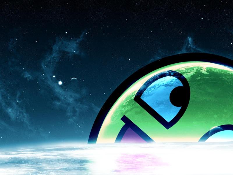 Signed.: Awesome Galaxy - Google Chrome Theme