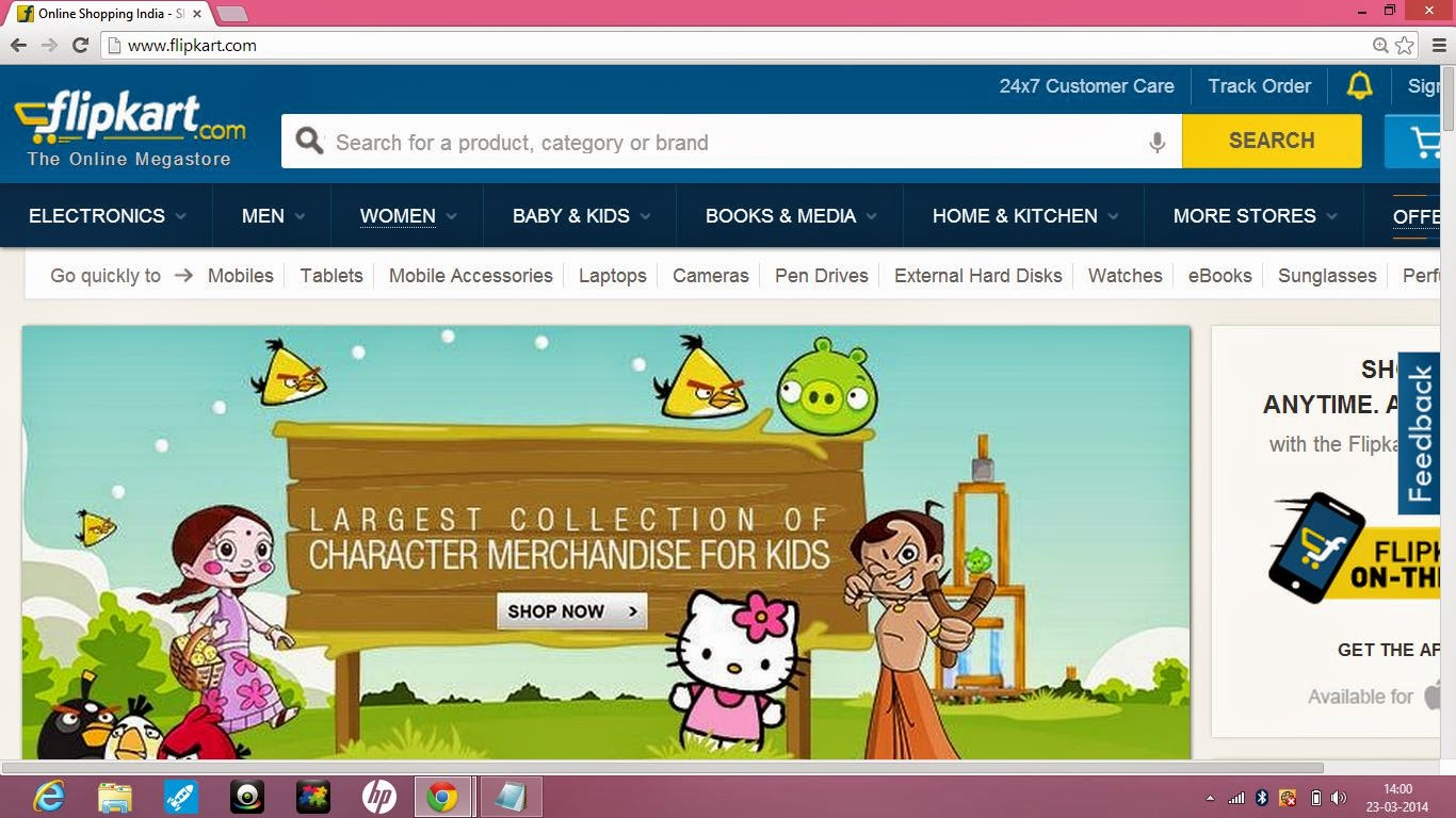 Flipkart Online Shopping Review