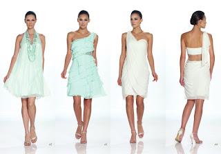 Vestidos Kathy Hilton primavera verano 2012
