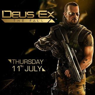 deus ex the fall ios promotional poster Deus Ex: The Fall (iOS)   Release Date Announced