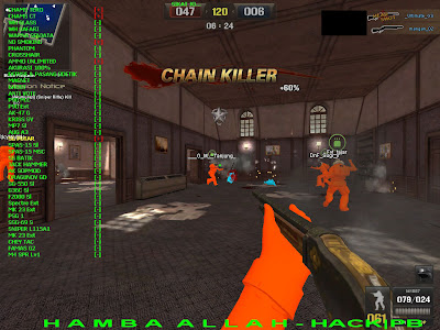 cheat point blank, point blank terbaru, 30 oktober 2011, PB hack Replace weapon + Penambahan Full Dewa (Sg Brutal/Sg bren cepat) + Ammo