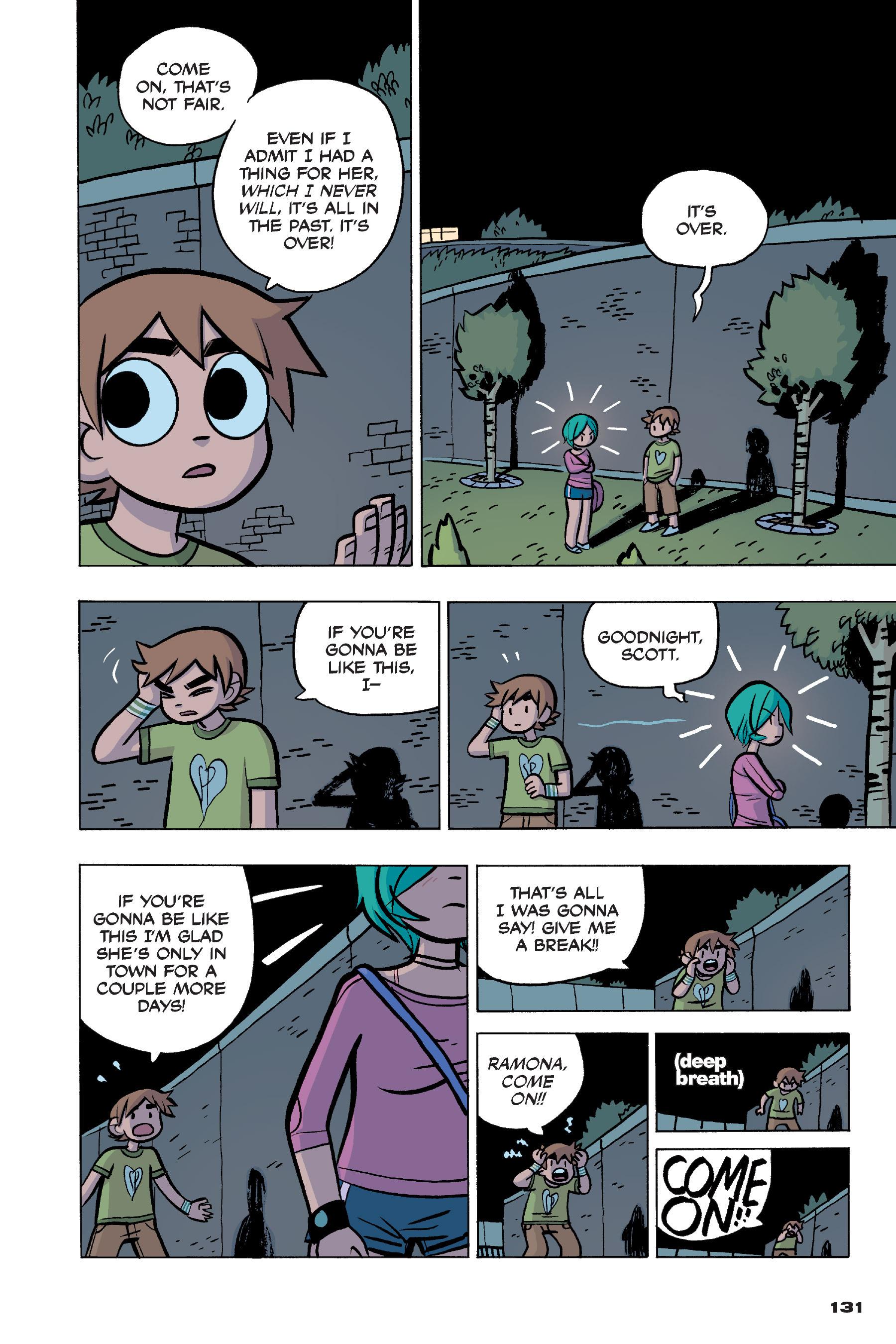 Read online Scott Pilgrim comic -  Issue #4 - 128