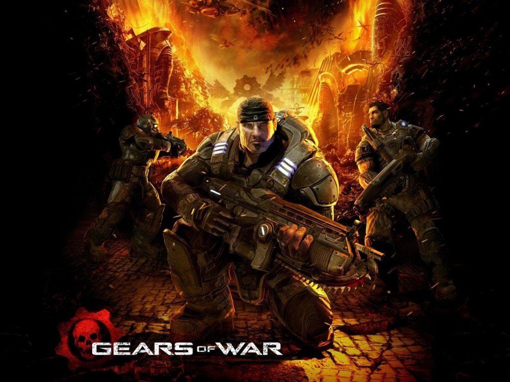 Gears of War HD & Widescreen Wallpaper 0.94285878586544