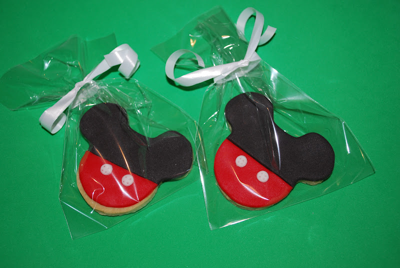baby sugar: Galletas de La Casa de Mickey Mouse