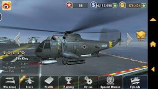 Download GUNSHIP BATTLE : Helicopter 3D v2.1.5 Apk + Data