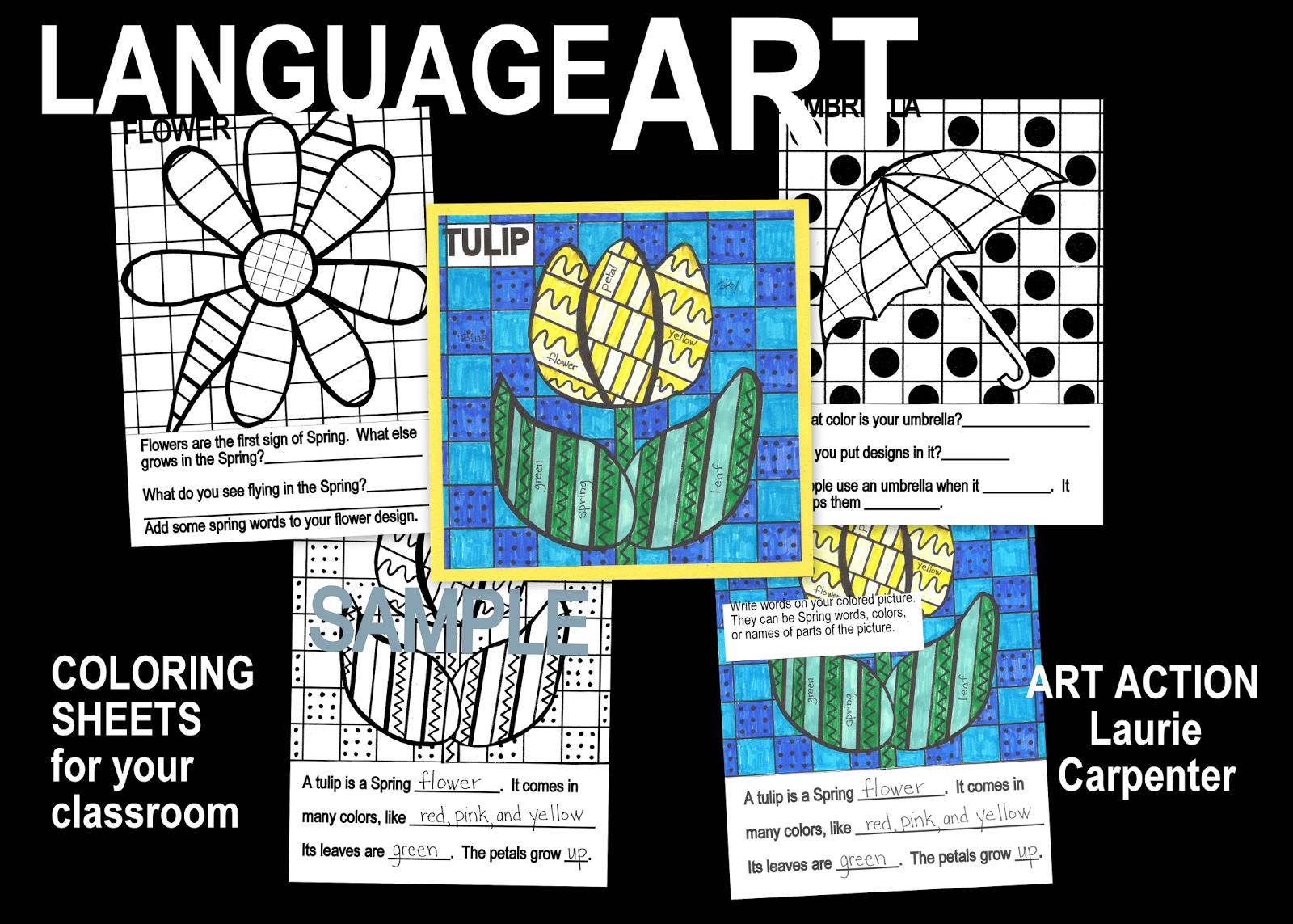 Language arts coloring sheets free social studies and for Language arts coloring pages