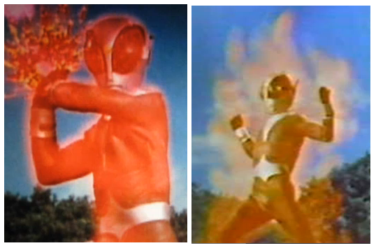 FireMan MagmaMan Finisher Fire Dash Retro Tokusatsu Japanese Show Aired in the  Philippines 90's