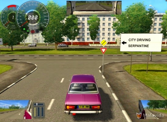 City car driving no 3D car driving Simulator