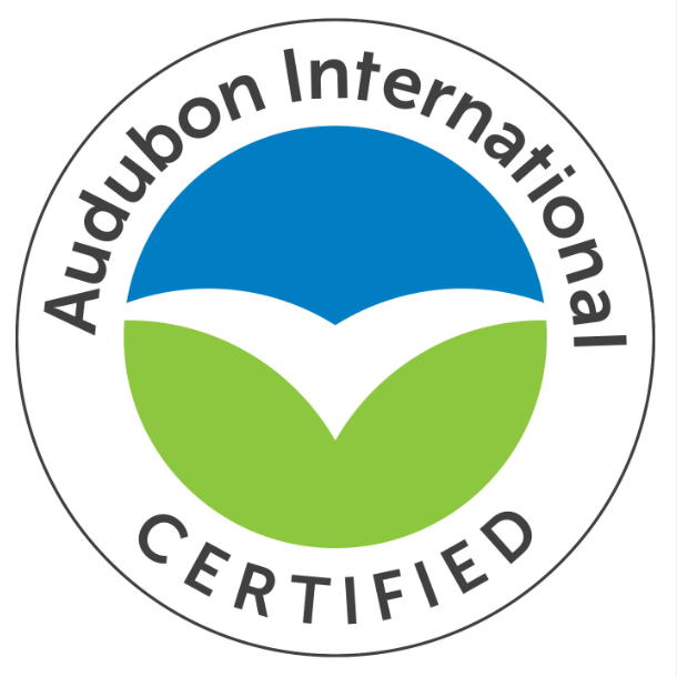 Certified Audubon Cooperative Sanctuary: