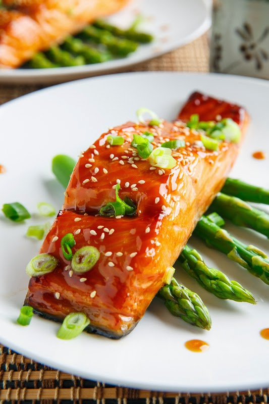 ... more fish in my meal plans and teriyaki salmon is definitely one of