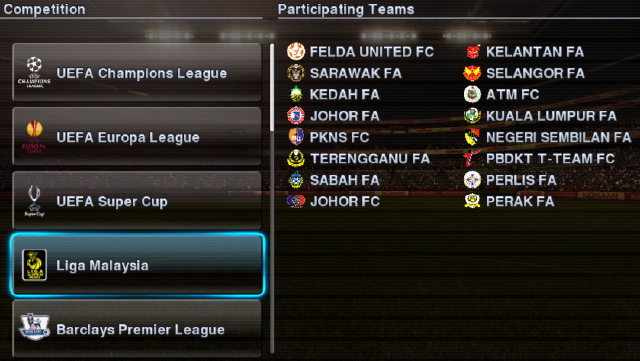 Patch] PES Malaysian League 2012 by Shark