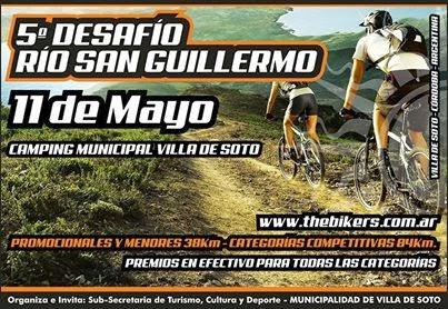 Quinto desafio al Río San Guillermo