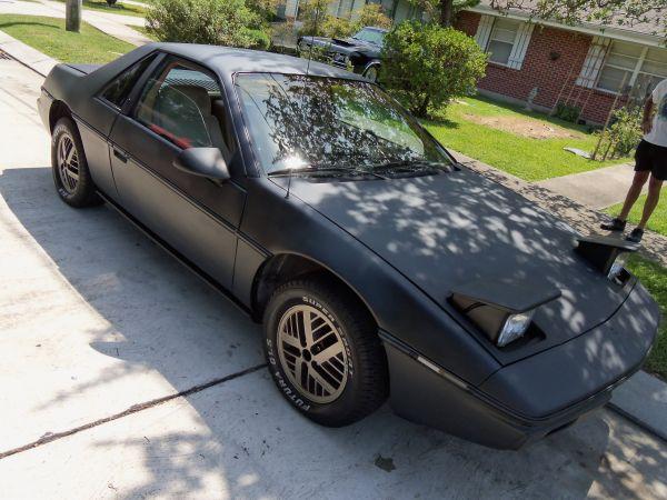 Daily Turismo: 5k: 1984 Pontiac Fiero w/ Cadillac V8; The ...