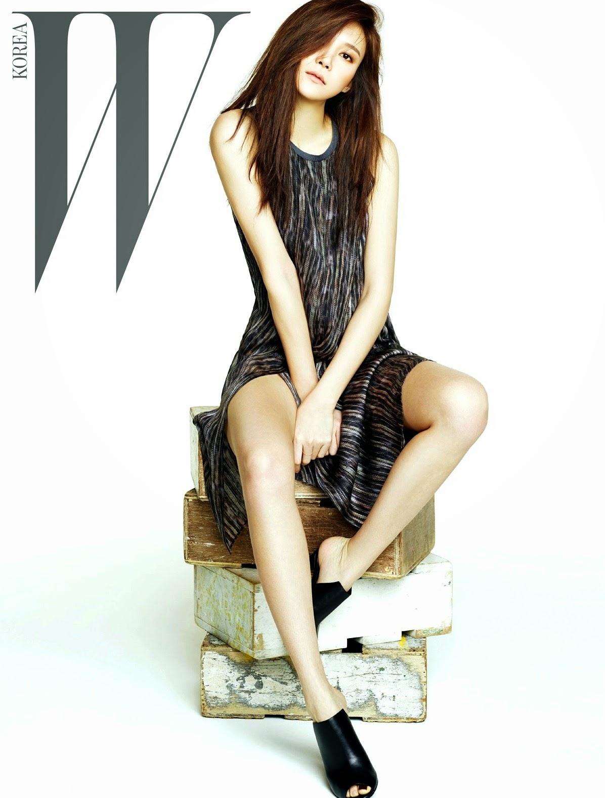 Cha Ye Ryun - W Magazine April Issue 2014